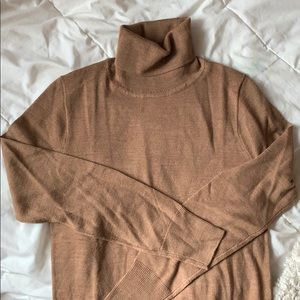 NWT camel turtleneck sweater